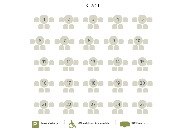 St. Jacobs Schoolhouse Theatre Seating Chart