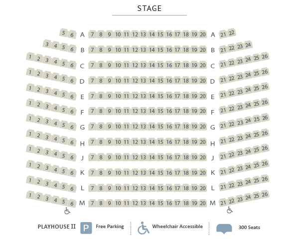 Huron Country Playhouse II Seating Chart