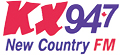 KX 94.7 New Country Logo