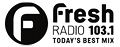 Fresh Radio 103.1 logo