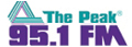 The Peak 95.1 FM logo