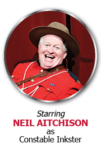 Starring Neil Aitchison as Constable Inkster
