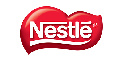 Nestle logo red with white text