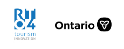 RTO4 Regional Tourism Organization 4 and Ontario Logo