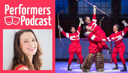 Performers Podcast with Tracey Power